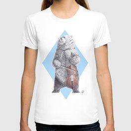 Cellist bear T-shirt