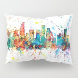 Los Angeles California Skyline Pillow Sham