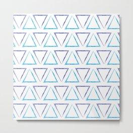 Peaks - Purple & Blue #238 Metal Print