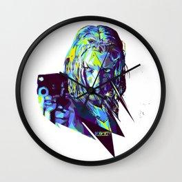 Leeloo : HARD ACTRESS Wall Clock