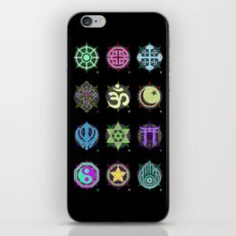 World Religions -- Group iPhone Skin
