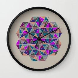 GEOMETRIC MEDALLION Wall Clock