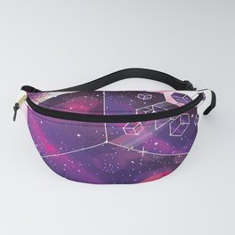 Cube space Fanny Pack