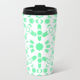 Mint Arabesque Travel Mug
