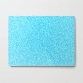 Diamonds Blue Metal Print