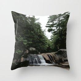 Grafton Notch State Park, Maine Throw Pillow