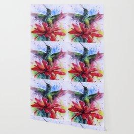 Rising from a Flower Wallpaper