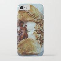 breakfast iPhone & iPod Cases featuring Breakfast by Gurevich Fine Art