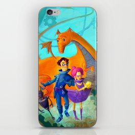 Space Charachters iPhone Skin
