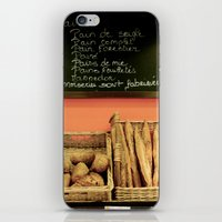 bread iPhone & iPod Skins featuring Bread by Stacey P Keating