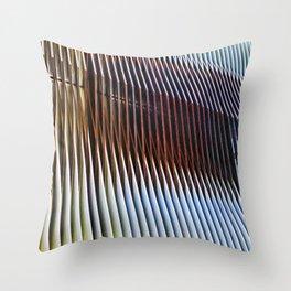 Structure of Ephemera Throw Pillow