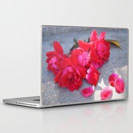 Lost a Step - Roses and Granite Laptop & iPad Skin