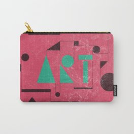 Art, the universal language. Carry-All Pouch
