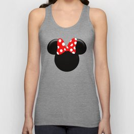 Minnie Mouse Logo PNG Unisex Tank Top
