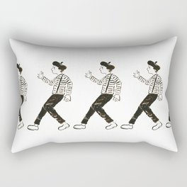 Talkless Man Rectangular Pillow