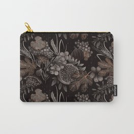 Sacred Species Pattern Carry-All Pouch