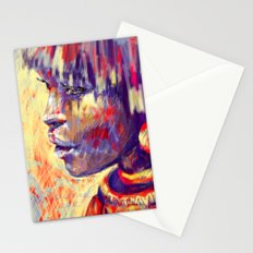 African portrait Stationery Cards