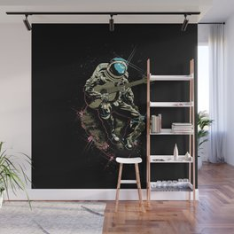 Space guitarist Wall Mural