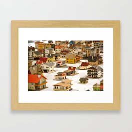 Little Man Framed Art Print