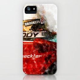 Jody Scheckter Close iPhone Case