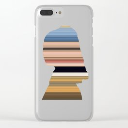 Girl with a Pearl Earring - Swipe Clear iPhone Case