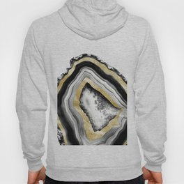 Agate Gold Foil Glam #1 #gem #decor #art #society6 Hoody