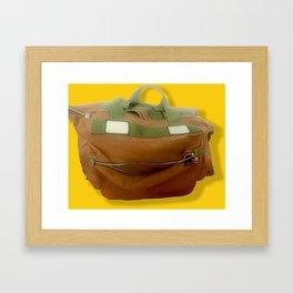 Happy Bag Framed Art Print