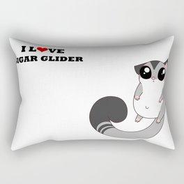 Sugar Glider Rectangular Pillow