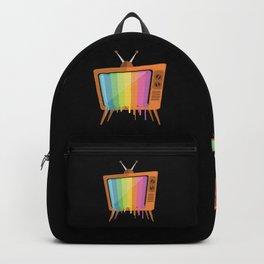 Rainbow TV Backpack