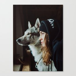 wolf mate Canvas Print