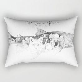 Sea run brown Rectangular Pillow