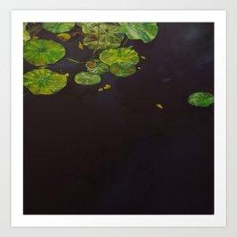Water meditation II Art Print