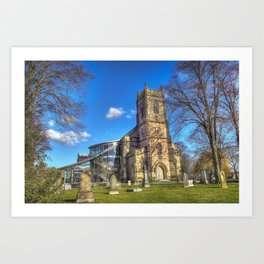 St Barnabus Church Art Print