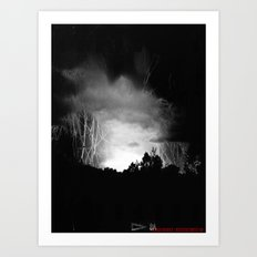 Coming Out Of The Darkness Art Print