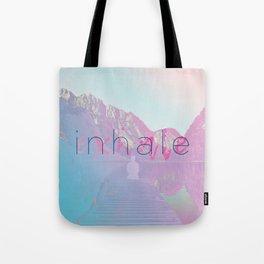 Inhale / Exhale Tote Bag