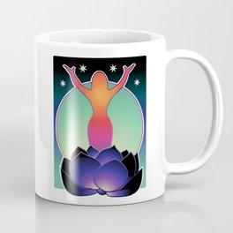 Black Lotus feminine spirit Coffee Mug