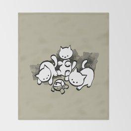 minima - mow Throw Blanket