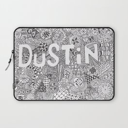 Dustin Doodle Laptop Sleeve