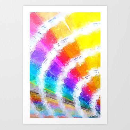 pantone color book art print pms color book - Pantone Color Book