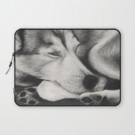 Sleeping Wolf Laptop Sleeve