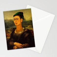 Frida Kahlo's Mona Lisa Stationery Cards