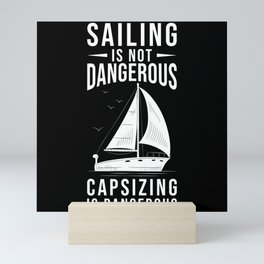 Sailor Gift Sailing Sailboat Mini Art Print