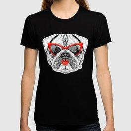 Lady Pug T-shirt