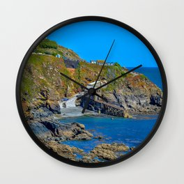 Lizard Walk -  Polpeor Cove Lifeboat Station Wall Clock