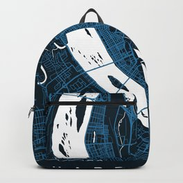 HARRISBURG Map - Pennsylvania, US   Neon + Colors, Review My Collections Backpack