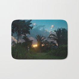 Jungle Sunrise Bath Mat