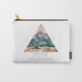 Grand Tetons Barn Carry-All Pouch