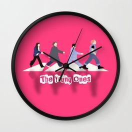 The Young Ones Wall Clock