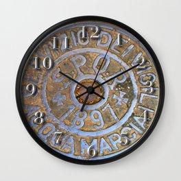Milan Iron Utility Cover Wall Clock