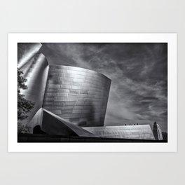 Los Angeles Music Center Art Print